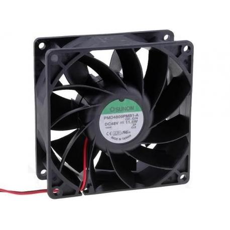 Ventilador refrigeración de 48v. 92x92x38mm