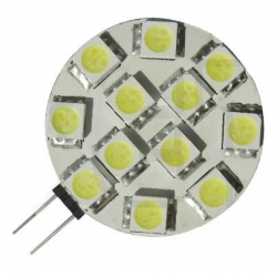 Led G4 12 led SMD 5050 30mm 12-24v AC/DC