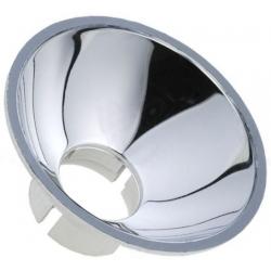 Soporte Reflector Mirilla Metalizada 40mm para Led de 10mm