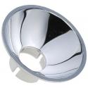 Mirilla Metalizada 40mm para Led de 10mm