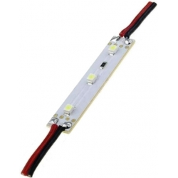 Modulo de 3 Led 3528 enlazables 12v