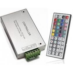 Controladores Led RGB Receptor Mando 44 teclas 12-24v
