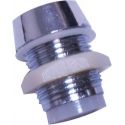 Soporte Mirilla Cromada para Led- 5mm