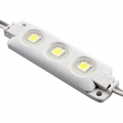 Modulo 3 led 5050 smd sumergible de 68x20x7mm