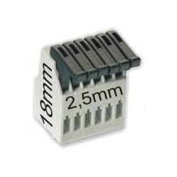 Borna Clip 6pin 2.5mm