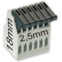 Bornas Clip 2.50mm