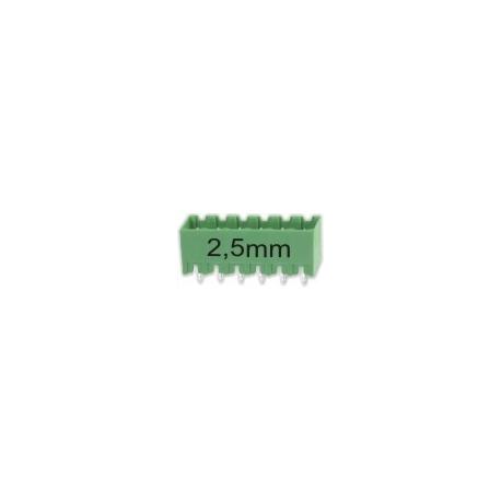 Borna Hembra Plug 6pin 2.5mm