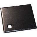 Disipador Plano de Transistores 29x24x2mm Negro