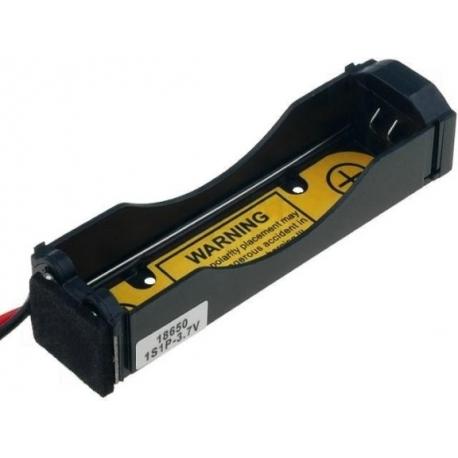 Portapilas para baterías 1x18650