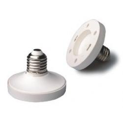Adaptadores de Lámparas Gx53-E27