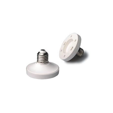 Adaptador de Lámparas GX53-E27