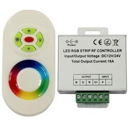 Controladores PWM Led RGB 12-24v Mando Touch RF