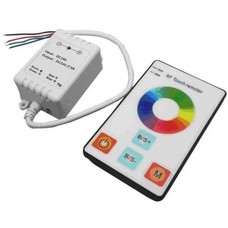 Dimmer Touch control para Led 12/24v. Mando plano