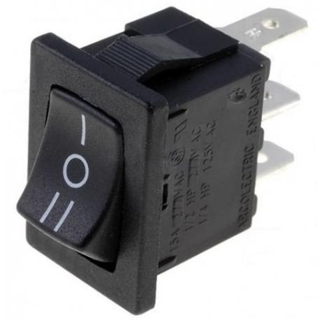 Interruptor basculante (Rocker) 3 posiciones
