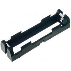 Porta pilas-baterías 18650