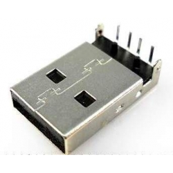 Conector USB Macho PCB 4 pin