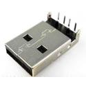 Conector USB-A Macho PCB 4 pin