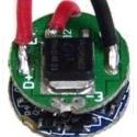 Driver para LED Luminus SST-50 5 modos 3.7-4.2v. 2 17.6mm