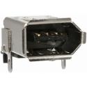 Conectores IEEE1394 Hembras 6 pin para Datos