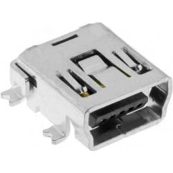 Conector Micro USB-B Hembra PCB SMD 5 pin 1000Z