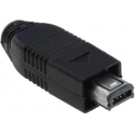 Conector Mini USB Macho Aereo 4 pin