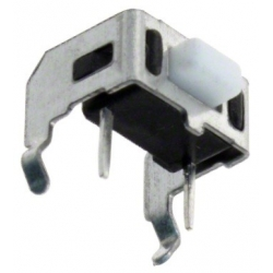 Pulsador Tact Switch acodado de 6x5x3mm