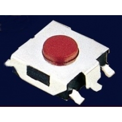 Pulsador Tact Switch SMD de 6.6x6.2mm