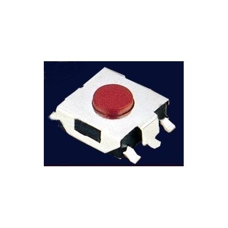 Pulsador Tact Switch SMD de 6.5x6.5x2.5mm
