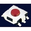 Pulsador Tact Switch SMD de 6.6x6.2mm