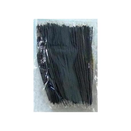 Cables Precortados y estañados Negro