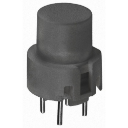 Pulsador Tact Switch 12mm gris