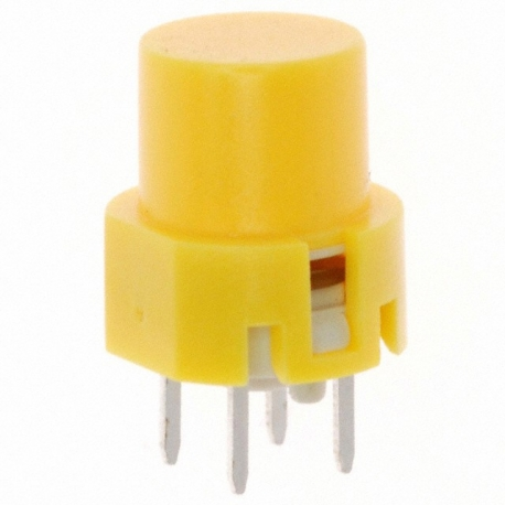 Pulsador Tact Switch 12mm amarillo