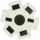 Pcb 20mm Blanco para Led 1w