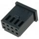 Conectores AMP-MOD Doble Recto paso 2.54mm 8pin