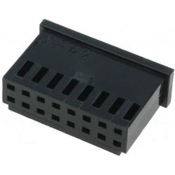 Conectores AMP-MOD Doble Recto paso 2.54mm 16pin