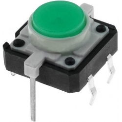 Pulsadores Tact Switch 12mm con Led