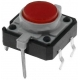 Pulsador Tact Switch 12mm con Led