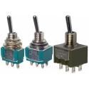 Interruptores de palanca, dip-switch