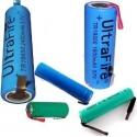 Baterías con lenguetas de Níquel para PCB o cables
