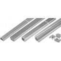 Perfiles de aluminio PVC-MDF