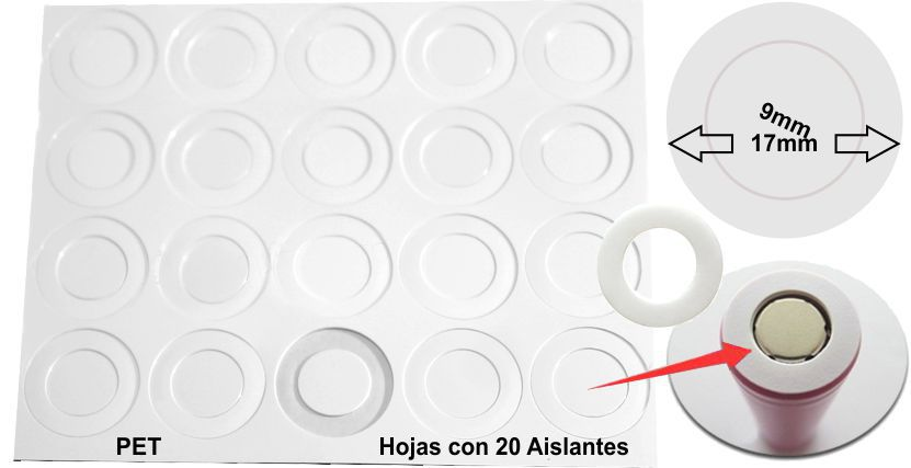 Aislante 17-9 PET Blanco