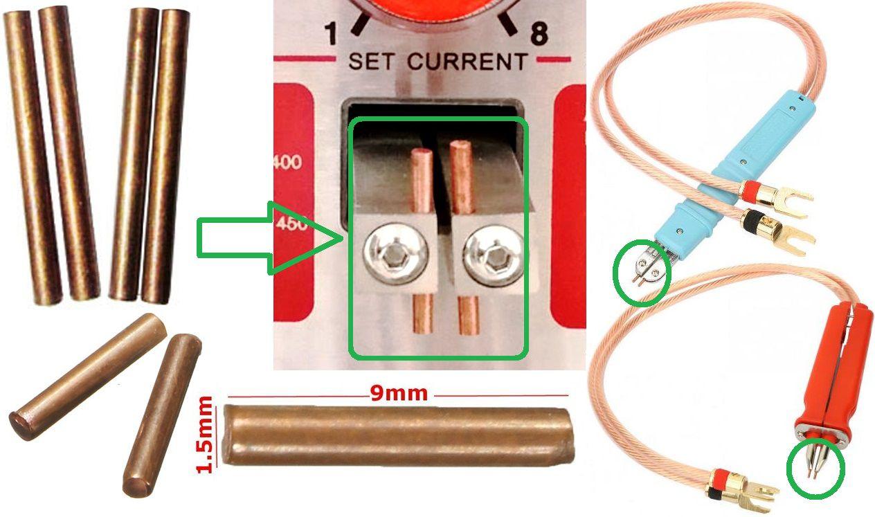 Electrodos Mini de 1.5mm