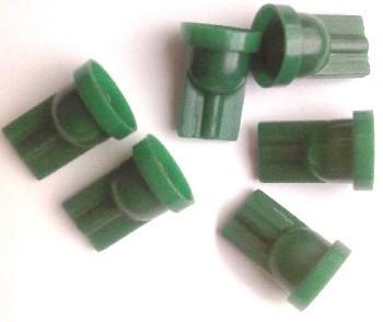 Casquillo T10 1Led verde