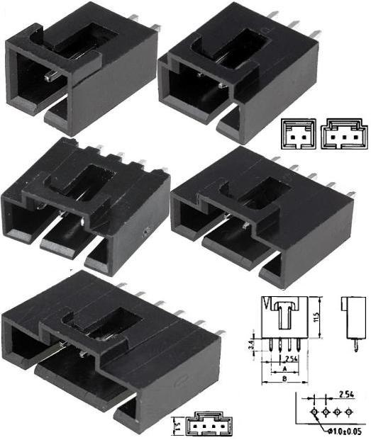 Conector macho Molex 70543