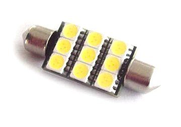 Festoon 39mm 9Led smd