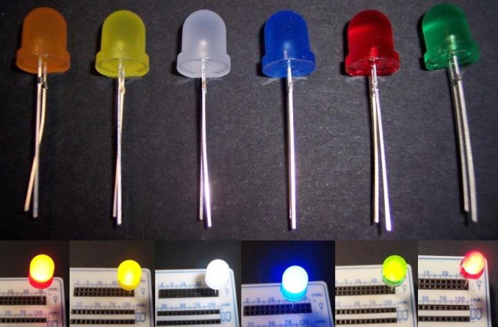 Led 8 mm Difusos