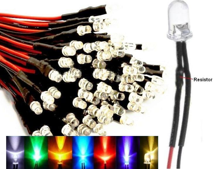 Led5mm con cable