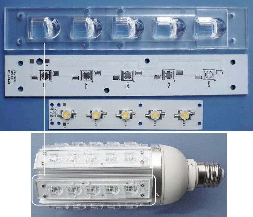 Multiled 5 led