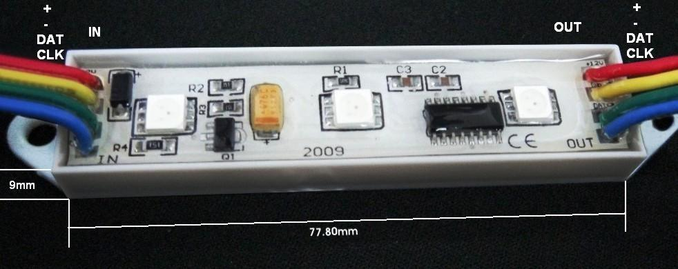 Pixel Led RGB 12v.chip