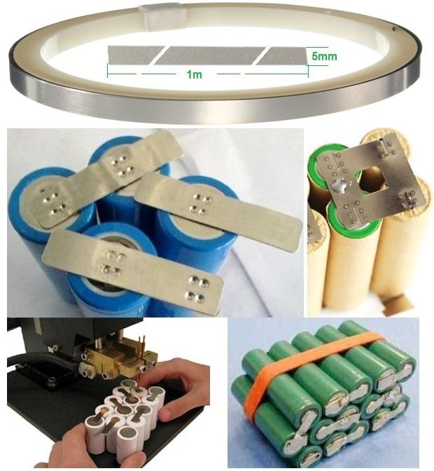 Platina soldar pack baterias